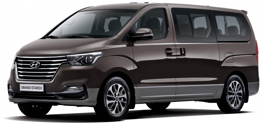 Hyundai Grand Starex facelift unveiled in South Korea Image #752984
