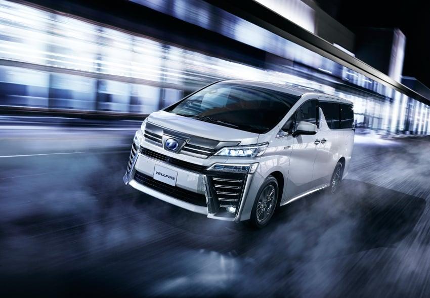 Toyota Alphard, Vellfire facelift: new 3.5 direct-injected V6, 8AT, standard second-gen Toyota Safety Sense Image #753660