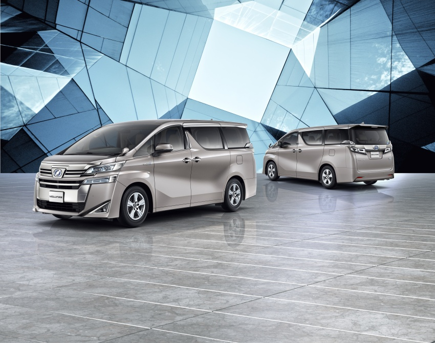 Toyota Alphard, Vellfire facelift: new 3.5 direct-injected V6, 8AT, standard second-gen Toyota Safety Sense Image #753661