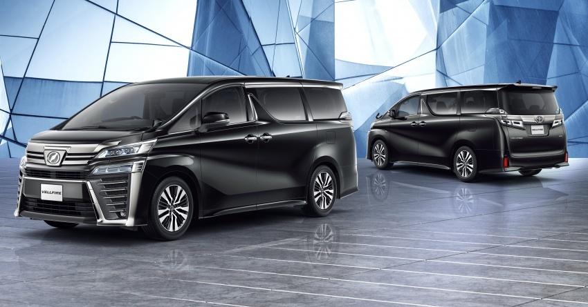 Toyota Alphard, Vellfire <em>facelift</em> – dengan enjin 3.5 liter V6 baru, 8AT dan Toyota Safety Sense generasi kedua Image #753851