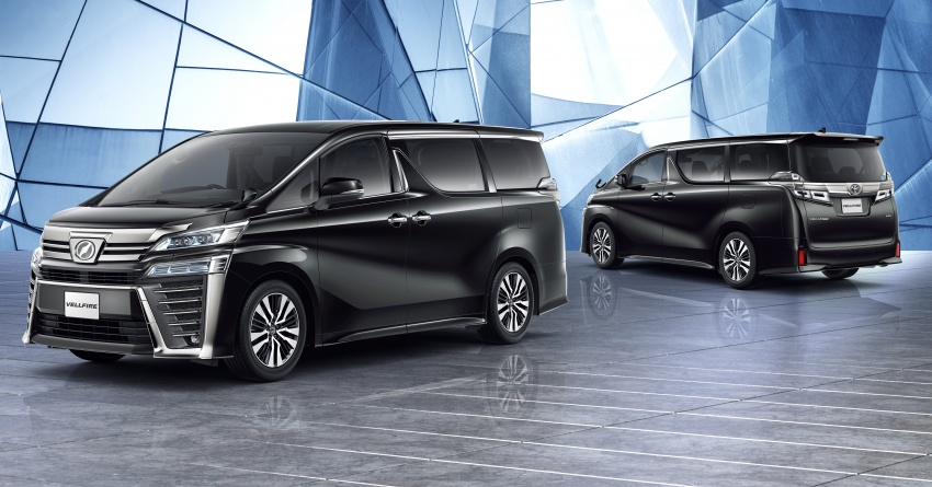 Toyota Alphard, Vellfire facelift: new 3.5 direct-injected V6, 8AT, standard second-gen Toyota Safety Sense Image #753662