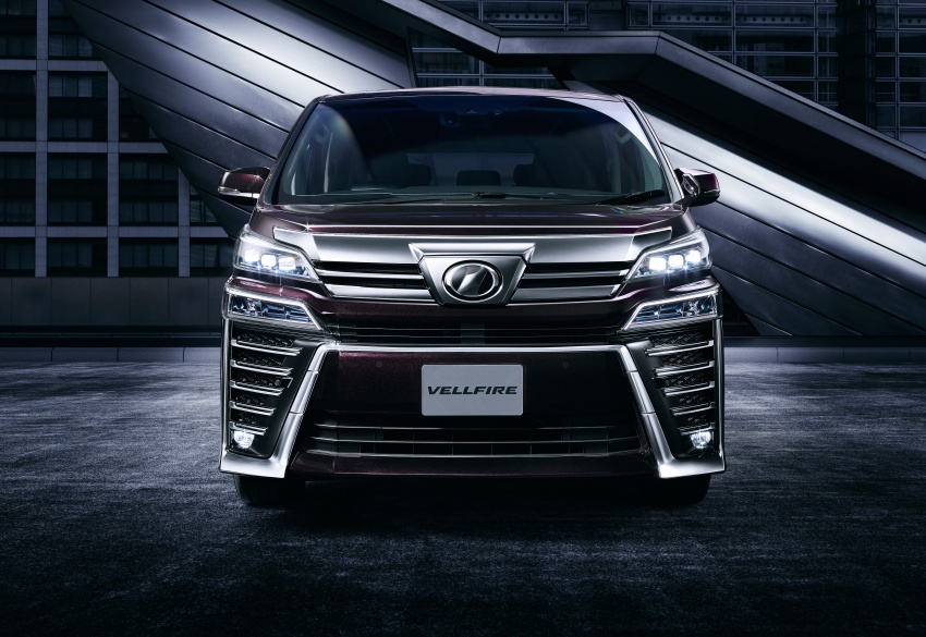 Toyota Alphard, Vellfire facelift: new 3.5 direct-injected V6, 8AT, standard second-gen Toyota Safety Sense Image #753663