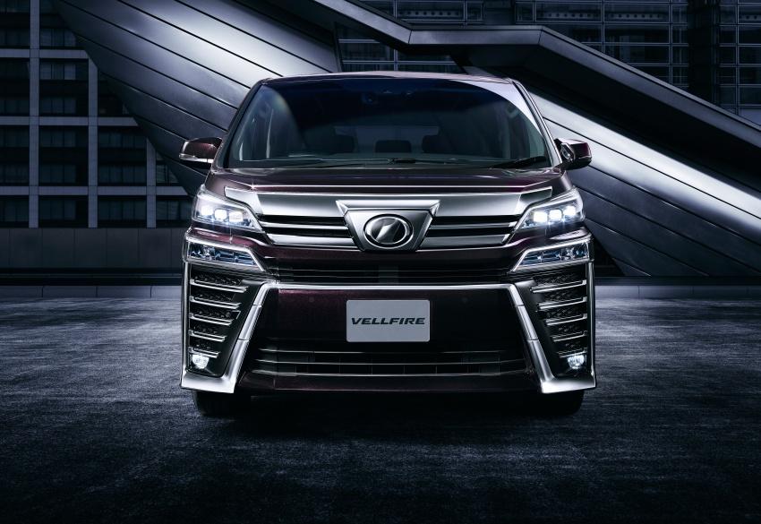 Toyota Alphard, Vellfire facelift: new 3.5 direct-injected V6, 8AT, standard second-gen Toyota Safety Sense Image #753663