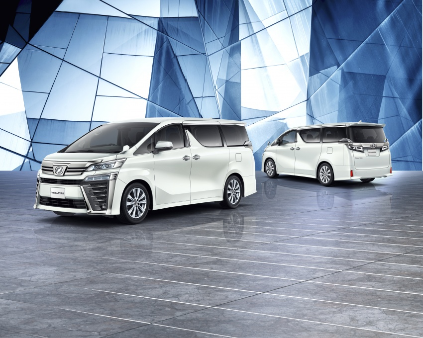 Toyota Alphard, Vellfire facelift: new 3.5 direct-injected V6, 8AT, standard second-gen Toyota Safety Sense Image #753665
