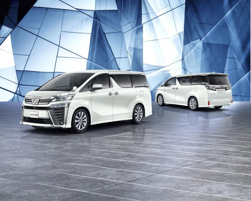 Toyota Alphard, Vellfire facelift: new 3.5 direct-injected V6, 8AT, standard second-gen Toyota Safety Sense Image #753665