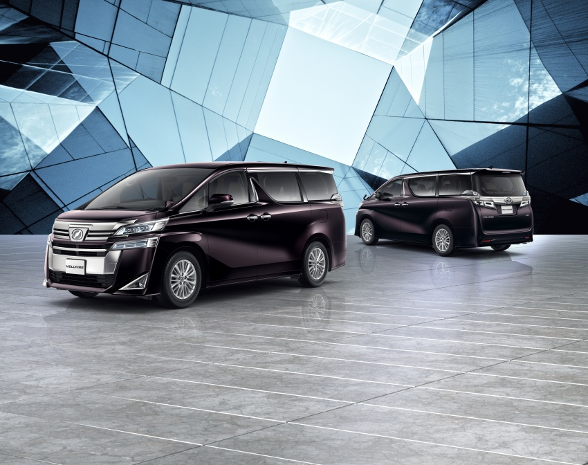 Toyota Alphard, Vellfire facelift: new 3.5 direct-injected V6, 8AT, standard second-gen Toyota Safety Sense Image #753666
