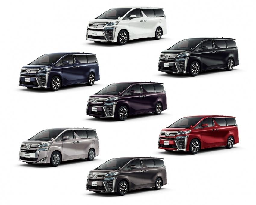 Toyota Alphard, Vellfire <em>facelift</em> – dengan enjin 3.5 liter V6 baru, 8AT dan Toyota Safety Sense generasi kedua Image #753856