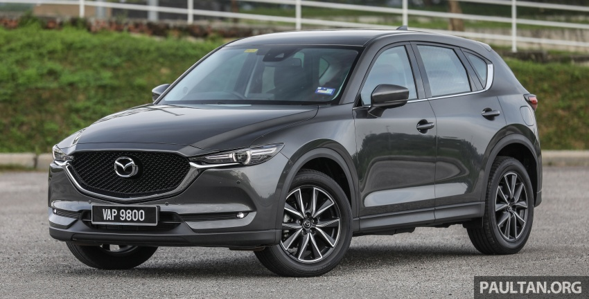 Mazda CX-5 – spec-by-spec comparison, full galleries Image #772342
