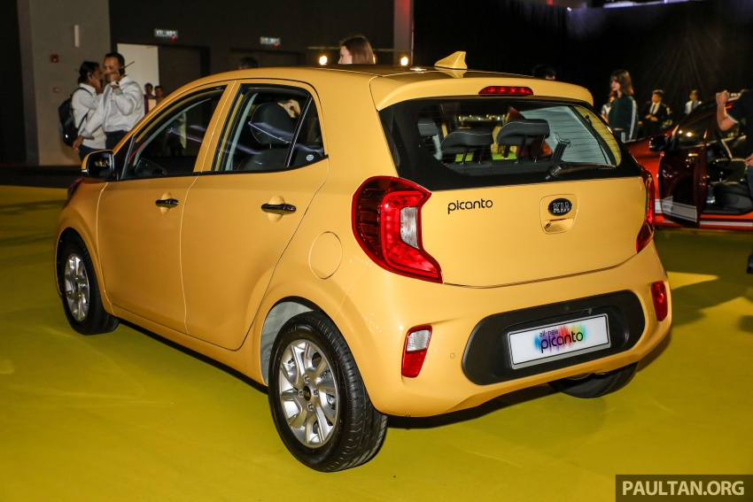 2018 Kia Picanto launched in Malaysia – RM49,888 Image #759024