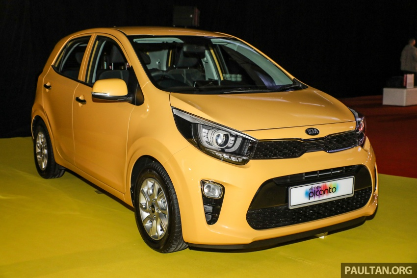 2018 Kia Picanto launched in Malaysia – RM49,888 Image #759025