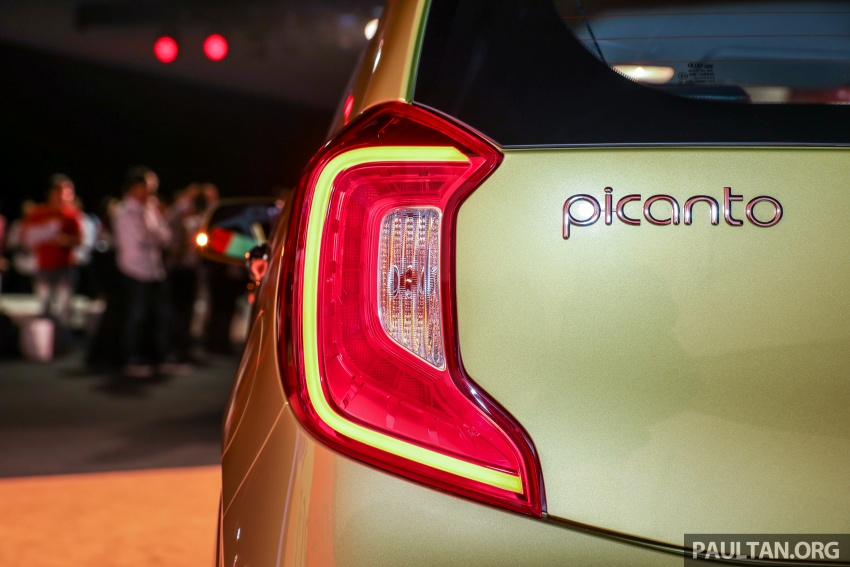2018 Kia Picanto launched in Malaysia – RM49,888 Image #759167