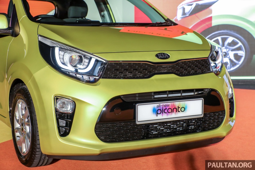 2018 Kia Picanto launched in Malaysia – RM49,888 Image #759154