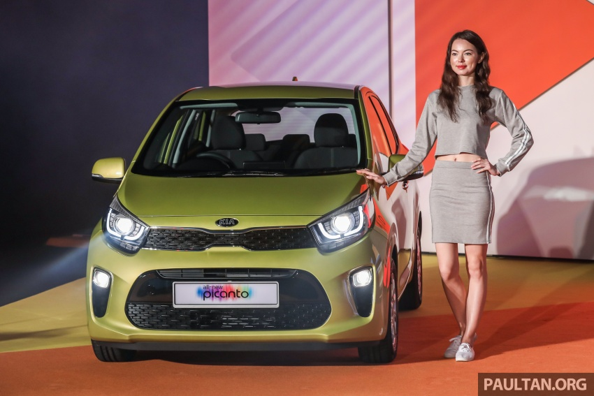 2018 Kia Picanto launched in Malaysia – RM49,888 Image #759223
