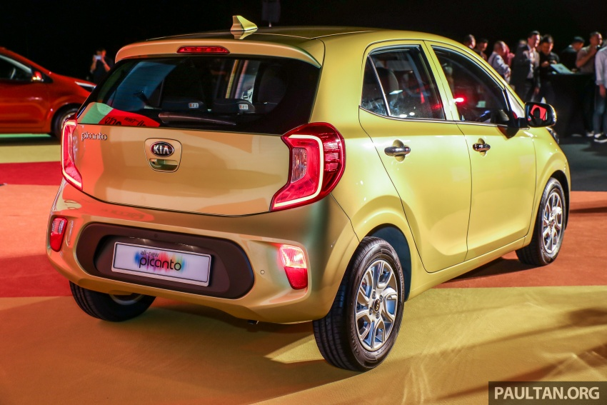 2018 Kia Picanto launched in Malaysia – RM49,888 Image #759215