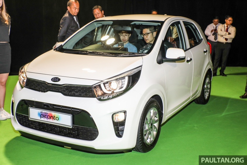 2018 Kia Picanto launched in Malaysia – RM49,888 Image #759216