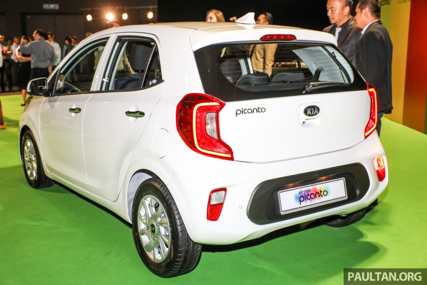2018 Kia Picanto launched in Malaysia – RM49,888 Image #759217