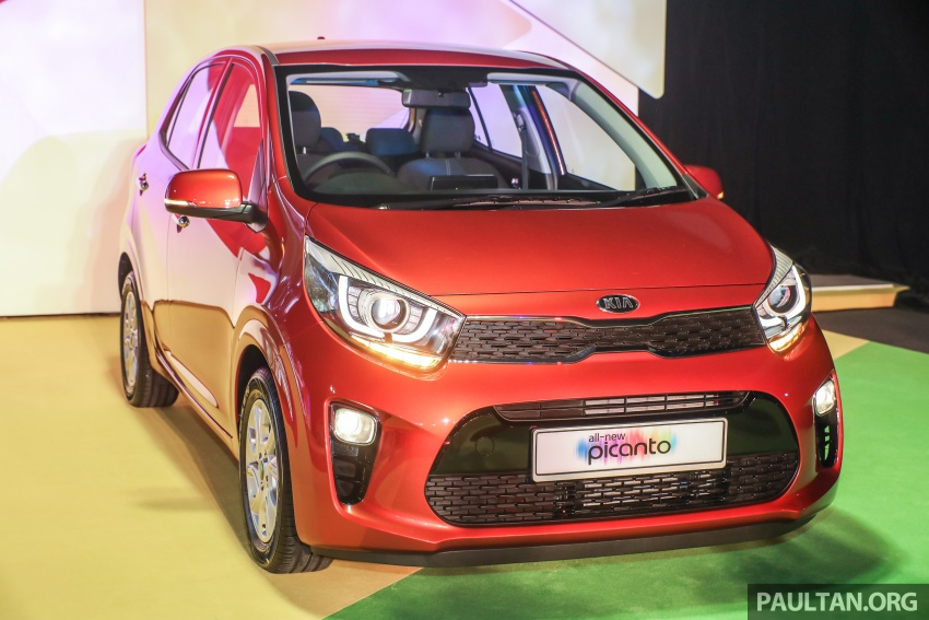 2018 Kia Picanto launched in Malaysia – RM49,888 Image #759218