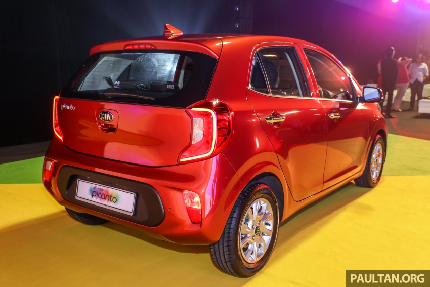 2018 Kia Picanto launched in Malaysia – RM49,888 Image #759219