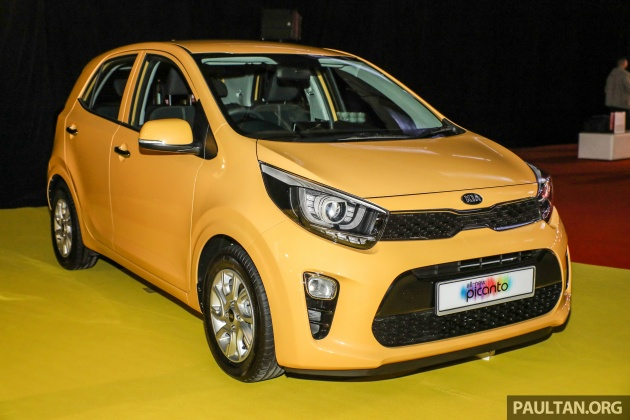 2018 kia picanto launched in malaysia – rm49,888
