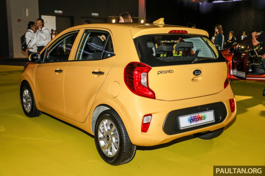2018 Kia Picanto launched in Malaysia – RM49,888 Image #759221