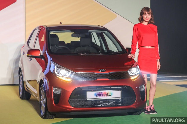 2018 Kia Picanto Launched In Malaysia Rm49 888