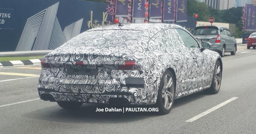 SPYSHOTS: 2018 Audi A7 Sportback seen in Malaysia Image #771692