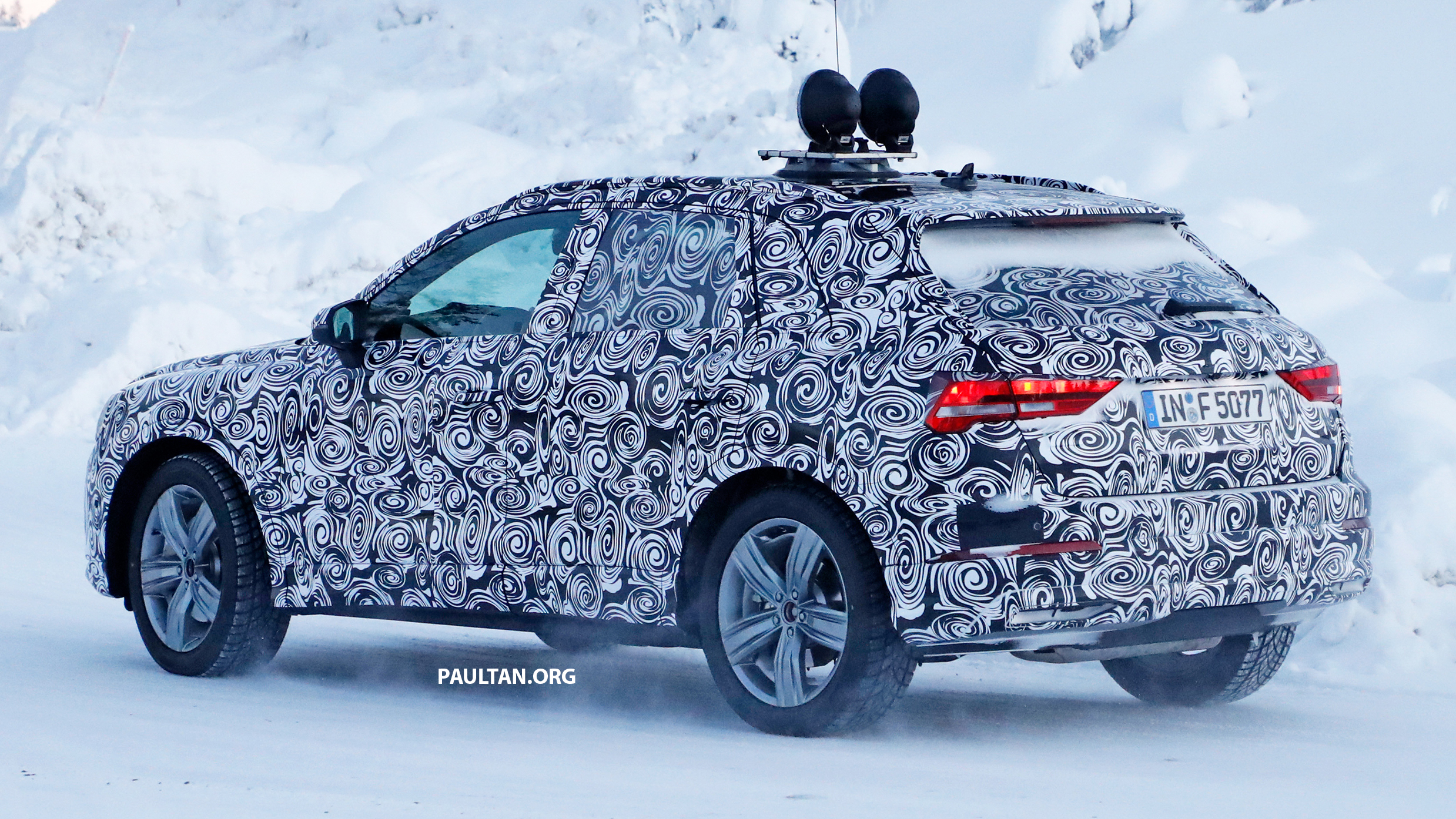 Spyshots 2019 Audi Q3 Shows New Led Lights Paul Tan