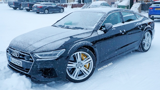 Spied Audi Rs7 Spotted To Get Sub 700 Hp 40l Tfsi