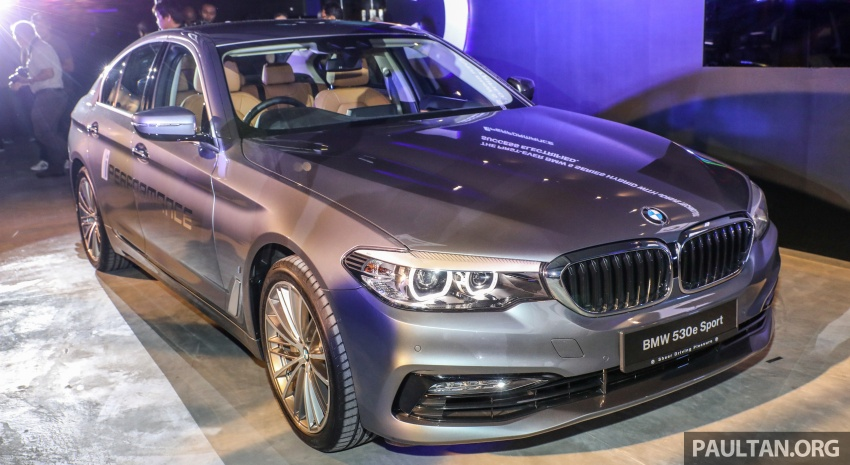BMW 530e iPerformance plug-in hybrid launched in Malaysia – 252 hp, 0-100 km/h in 6.2 secs, RM344k Image #766737