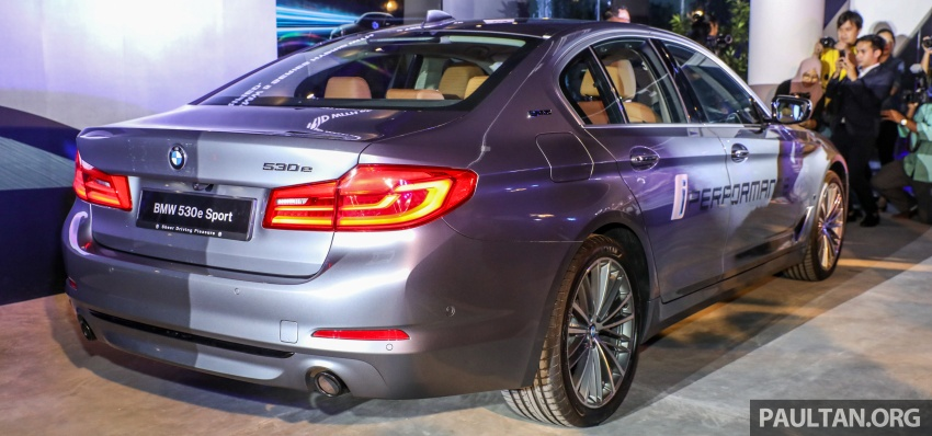 BMW 530e iPerformance plug-in hybrid launched in Malaysia – 252 hp, 0-100 km/h in 6.2 secs, RM344k Image #766738