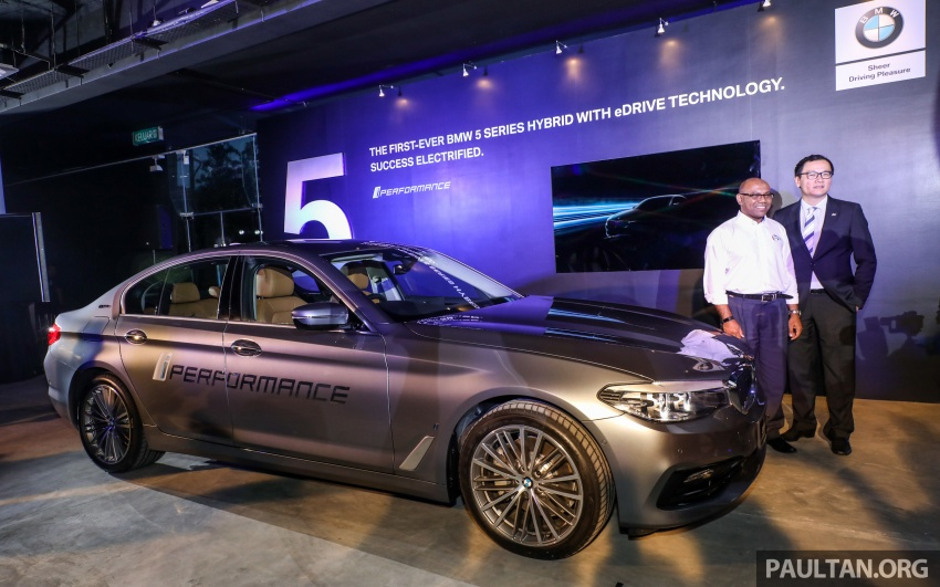 BMW 530e iPerformance plug-in hybrid launched in Malaysia – 252 hp, 0-100 km/h in 6.2 secs, RM344k Image #766739