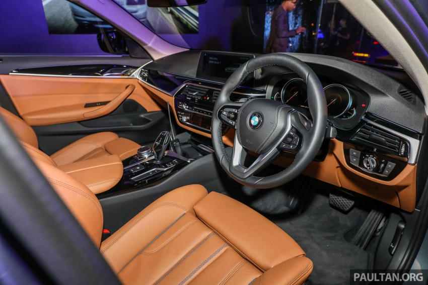 BMW 530e iPerformance plug-in hybrid launched in Malaysia – 252 hp, 0-100 km/h in 6.2 secs, RM344k Image #766747