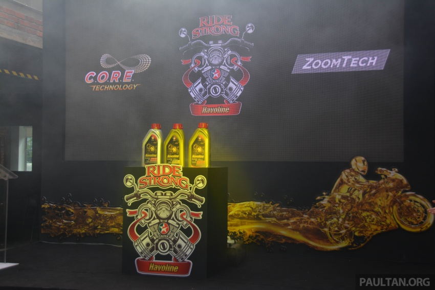 Caltex launches Havoline bike lube with Zoomtech Image #759380