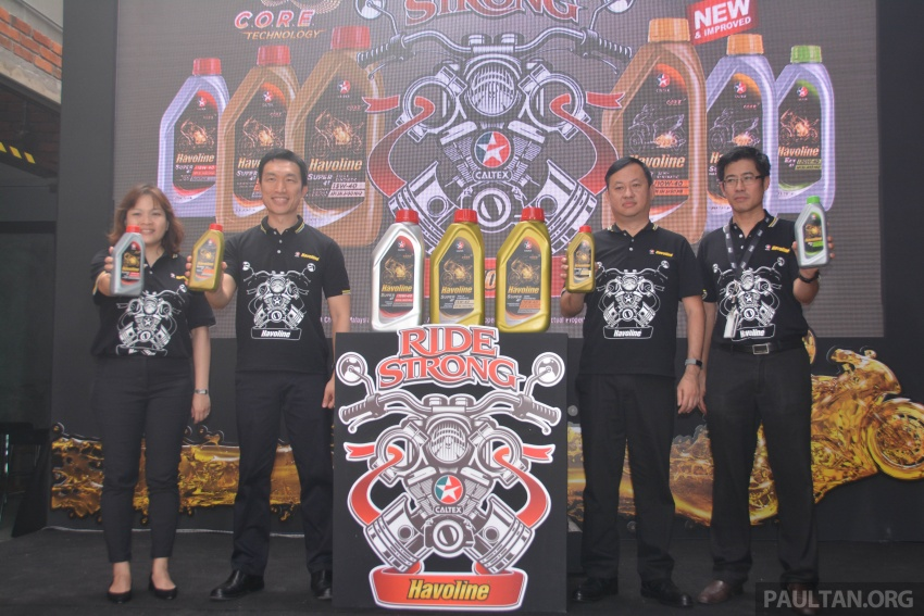 Caltex launches Havoline bike lube with Zoomtech Image #759381
