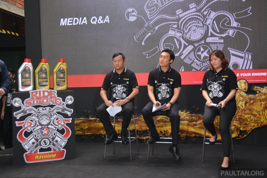 Caltex launches Havoline bike lube with Zoomtech Image #759382