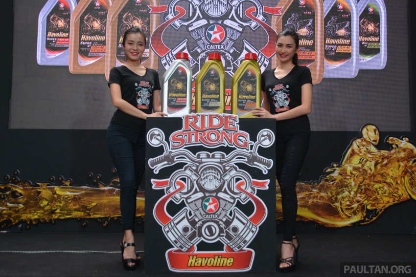 Caltex launches Havoline bike lube with Zoomtech Image #759384