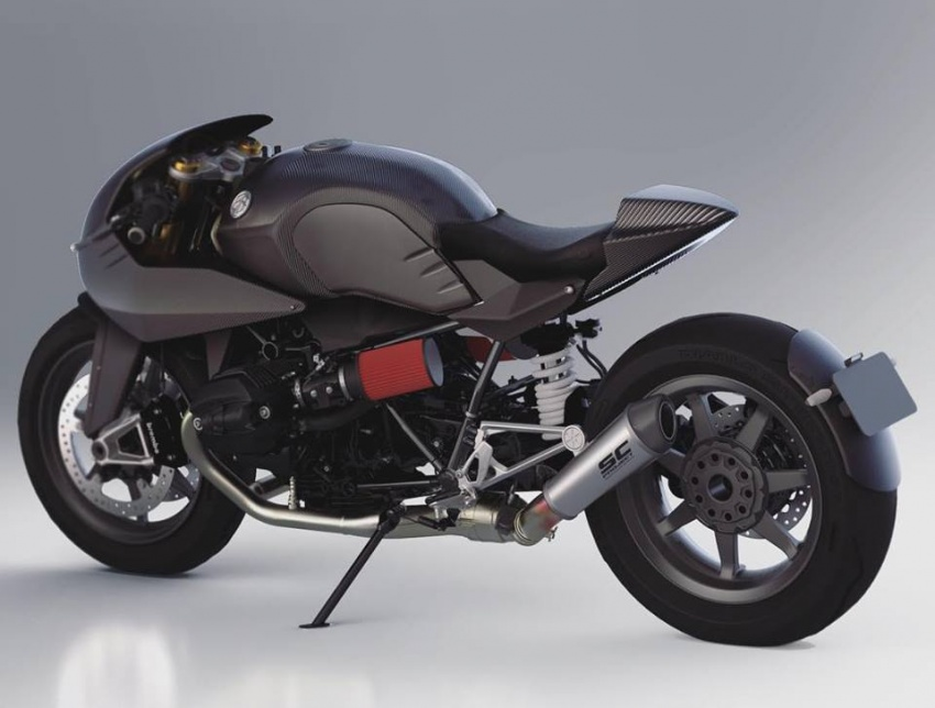 2018 BMW Motorrad R nineT gets Dab Design ER Kit Image #760409