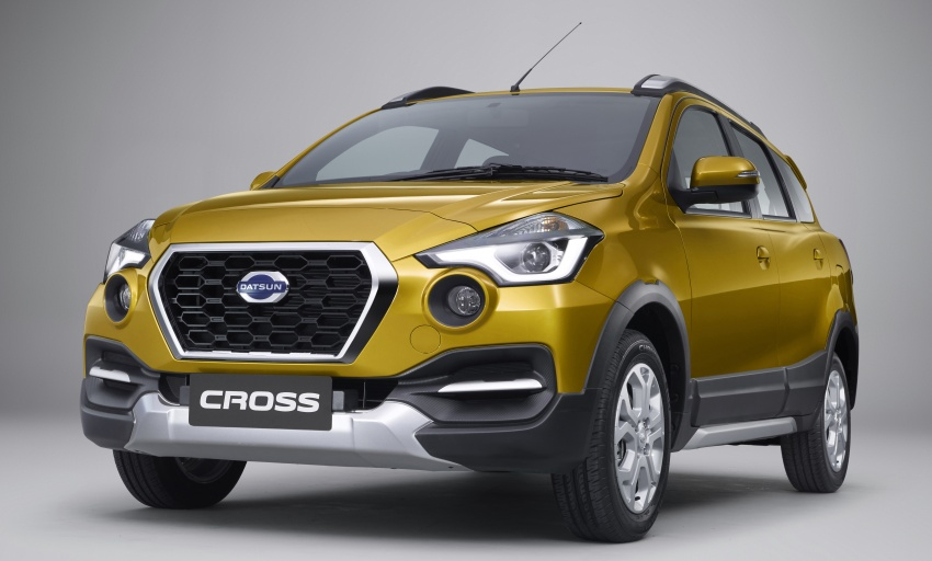 Datsun Cross 7-seat crossover debuts in Indonesia Image #767039