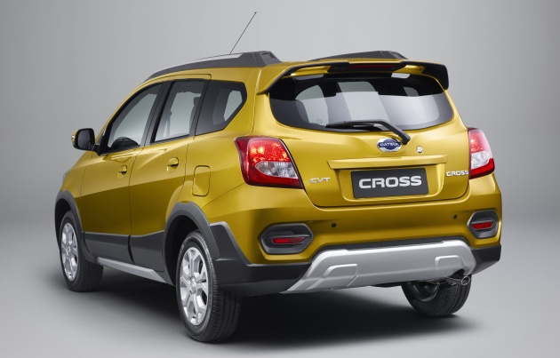 Datsun Cross 7 Seat Crossover Debuts In Indonesia