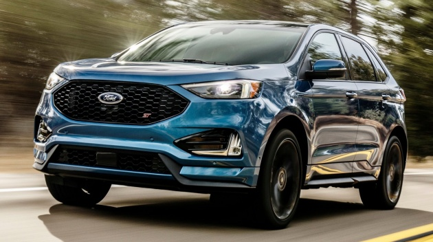 2019 ford edge st the first ford performance suv. Black Bedroom Furniture Sets. Home Design Ideas