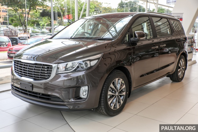 Awd Cars For Sale >> Kia Grand Carnival CKD - same price, more features