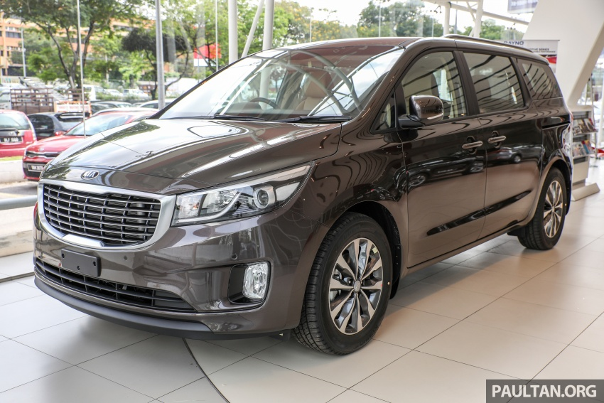 Kia Grand Carnival CKD – same price, more features Image #758649