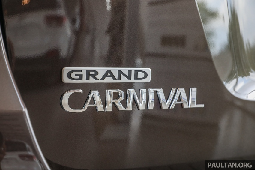 Kia Grand Carnival CKD – same price, more features Image #758692