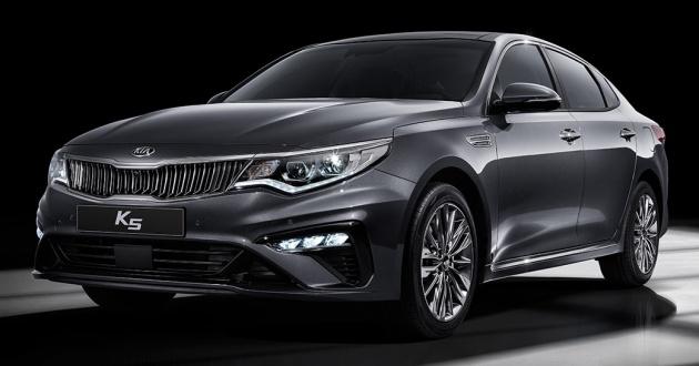 Kia Optima Facelift Debuts New K5 Launched In Korea