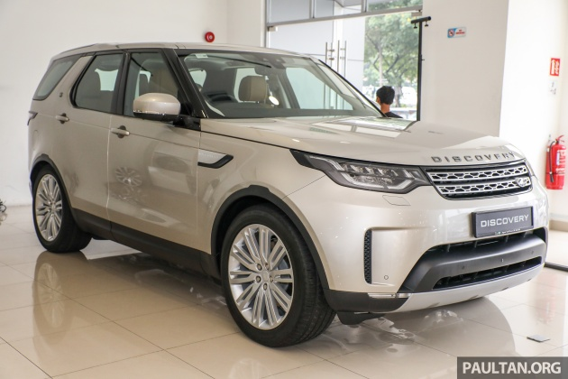 Land Rover Discovery debuts in Malaysia - RM730k