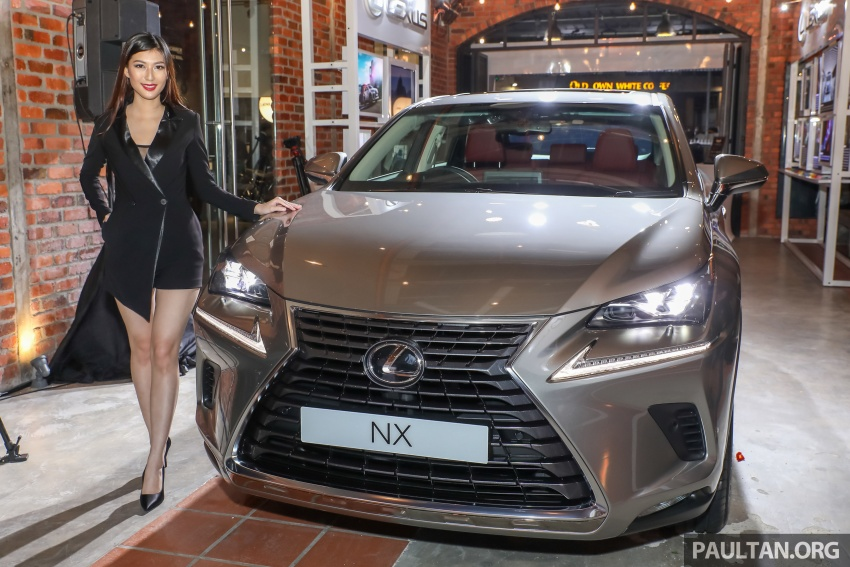 Lexus Malaysia previews RX 350L seven-seater, updated NX 300 facelift range – SUVs from RM312k Image #770305
