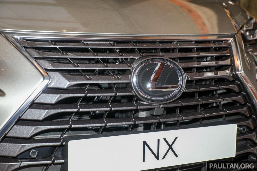 Lexus RX 350L dan NX 300 2018 kini dipertontonkan di Malaysia – harga bermula dari RM312k hingga RM475k Image #770392