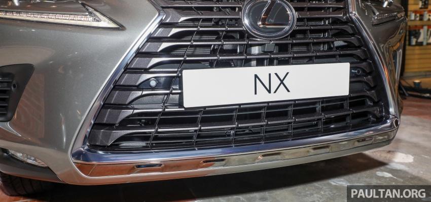 Lexus RX 350L dan NX 300 2018 kini dipertontonkan di Malaysia – harga bermula dari RM312k hingga RM475k Image #770393