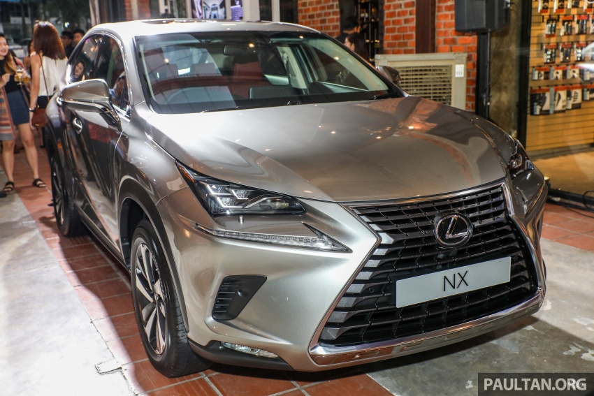Lexus Malaysia previews RX 350L seven-seater, updated NX 300 facelift range – SUVs from RM312k Image #770306