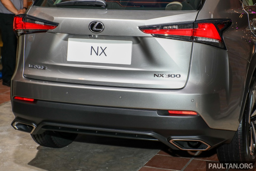 Lexus Malaysia previews RX 350L seven-seater, updated NX 300 facelift range – SUVs from RM312k Image #770326